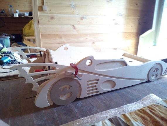Batman Toddler Bed Frame Single Mdf For