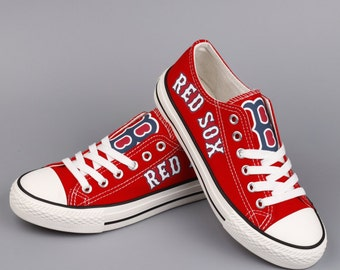 Boston Red Sox shoes Red Sox Sneakers Boston Red Sox Tennis shoes Red