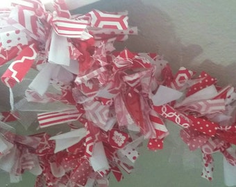 Red and White Valentine's Garland