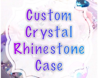 Custom Crystal Rhinestone Phone Case
