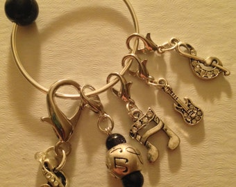 Music Lover's Stitch Markers