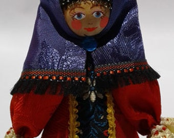 Rare Russian Costumed Doll