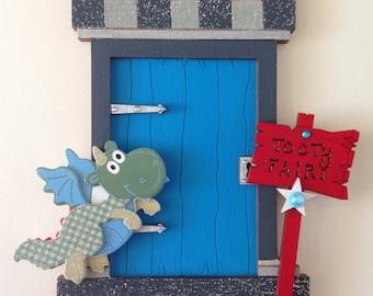 Knights Castle Door Tooth Fairy Door