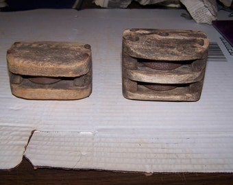 Pair of Pulley Blocks