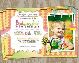 Lemonade Birthday Invitation