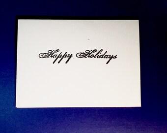 Happy Holidays Card Set of 10