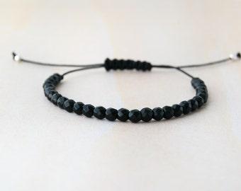 Black tourmaline bracelet, tourmaline bracelet, black tourmaline, tourmaline black, natural stone, black bracelet