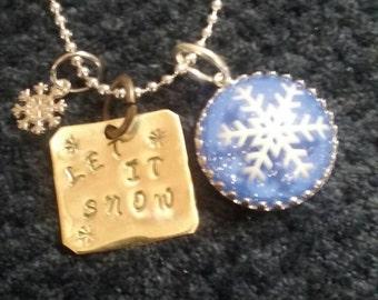 Let it snow MEMORY NECKLACE