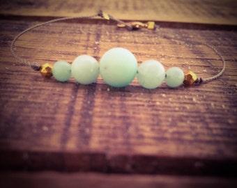 Bracelet in Amazonite