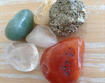 Gemstone kit for Prosperity and Abundance