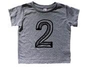 Second Birthday Shirt, Number two Shirt,  Second Birthday baseball raglan, 2nd shirt, 2nd Birthday Outfit, Second Birthday Shirt Girl boy