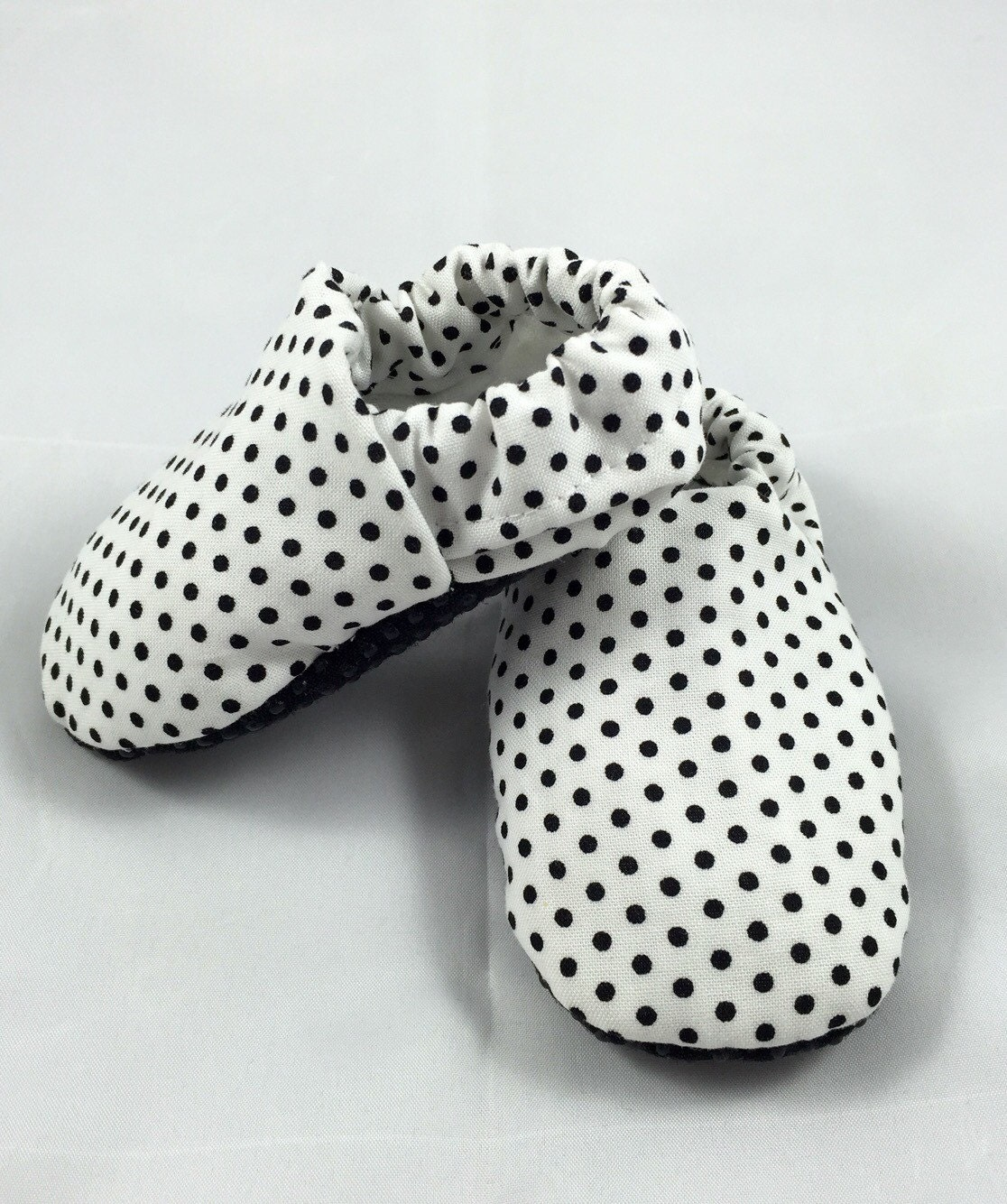black and white polka dot baby shoes black and white by