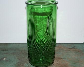 Hoosier 4102 Green Vase