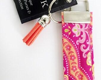 Designer Fabric Key Fob