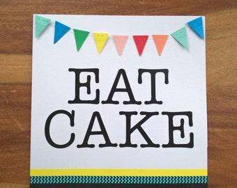 Eat Cake card