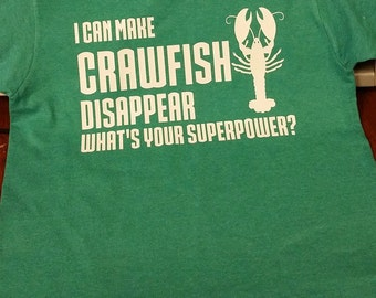Adult Crawfish Tshirt