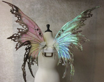 Gorgeous Ready to Ship Steampunk Fairy Wings