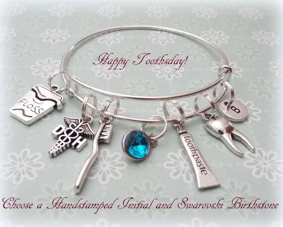 Dental Hygienist Gift Dental Hygienist Bracelet Gift Ideas