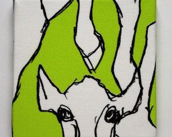Marimekko 'Kevätjuhla  Fabric Canvas Wall Art