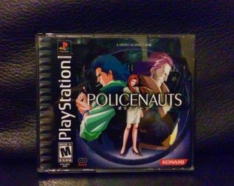 Policenauts PS1 English Translated