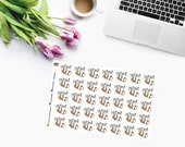 LAZY DAY SLOTH Planner Stickers  CAM00267