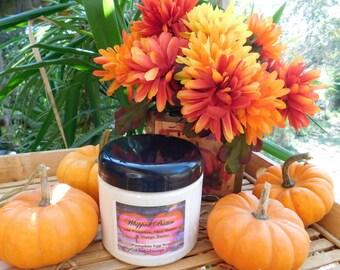 Pumpkin Delight - Whipped Shea & Mango Body Butter - 12 oz or 16 oz Jar - Nourishing Pumpkin Seed Oil