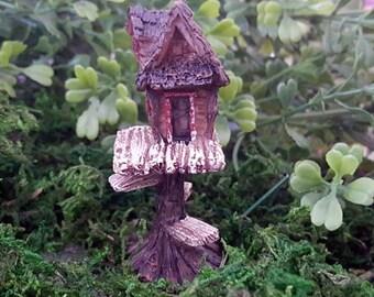 Miniature Teeny Club House / Tree House