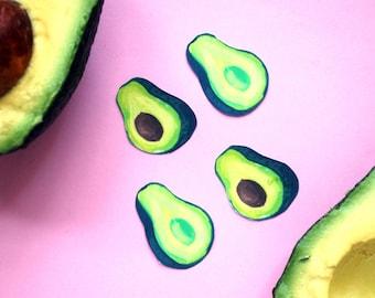 Avacado Stickers (food, fruit, vegetable)