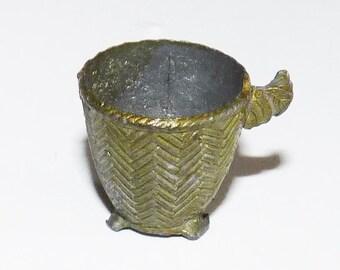 Antique Dollhouse Miniature Pot 1920 - 671
