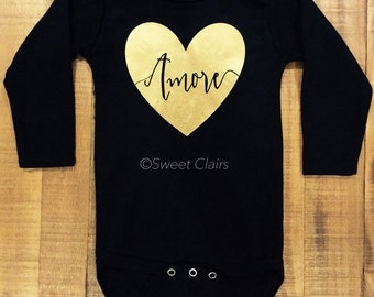 Amore Love Baby Bodysuit/Toddler Shirt