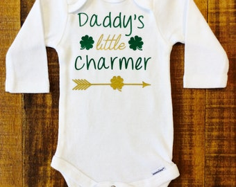 St. Patrick's Day Baby Bodysuit