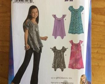 Simplicity Hannah Montana 3514, Girls Size AA 8-16, mini Dress, Tunic, sewing Pattern