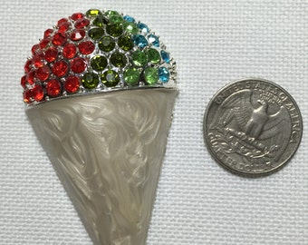 Snowcone needle minder bling crystal