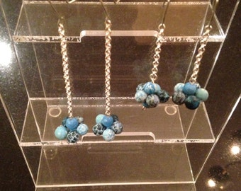 Blue drop cluster