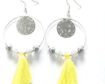 GALA was Silver earrings