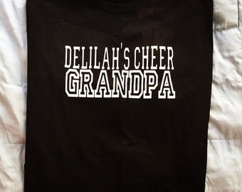 Cheer grandpa/ any sport grandpa (free shipping)