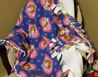 Sofia the First Fleece Blanket Disney Blanket Baby Blanket Toddler Blanket Disney Sofia the First Fleece Blanket Toddler Gift Baby Gift