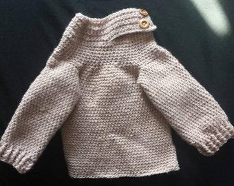 Baby Boys Crochet Sweater