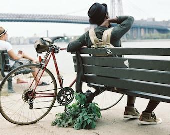 MANHATTAN - Cyclist