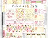 Freestyle Planning - Let Yourself Shine Kit - planner stickers