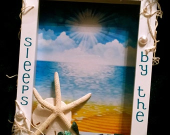 BEACHY 5x7 Shadowbox Frame