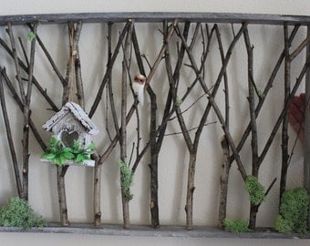Who who's in the Woods? wall decor