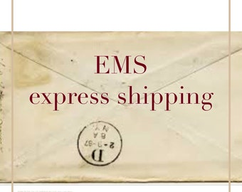 EMS express Shipping 1 Week anywhere in the World