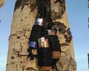 Colorado handmade paracord/lighter necklace
