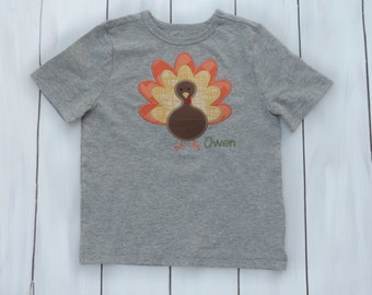 Boys Thanksgiving Shirt- Thanksgiving Shirt - Boys Thanksgiving Outfit - Toddler Boys Thanksgiving Outfit - Thanksgiving Shirt -Turkey