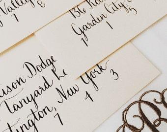 Custom Handwritten Envelope Addressing - Magnolia Font