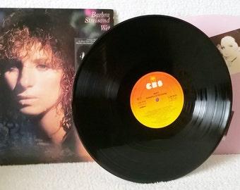 """BARBRA STREISAND-Wet-1979-vinyl-picture inner-Ex/Ex-""""No More Tears""""-""""Kiss Me In The Rain"""""""