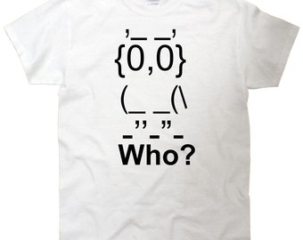 Who Owl T-Shirt