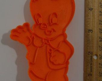 "Vintage WILTON PORKY PIG Cookie Cutter | 1979 4 7/8"" Looney Tunes"