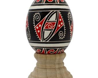 Dzhuriv Ukrainian Trypillya Easter Egg- SKU # bl-627